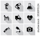 vector medic and healthcare... | Shutterstock .eps vector #353095124