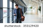 man on smart phone   young... | Shutterstock . vector #353129420