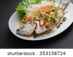 Fish Dishes   Steamed Snapper...