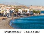 the village of myrtos  near... | Shutterstock . vector #353165180