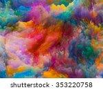 colors of imagination series.... | Shutterstock . vector #353220758