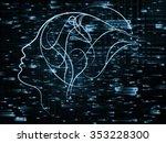human tangents series....   Shutterstock . vector #353228300