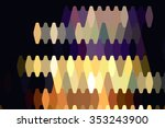 abstract background. gold mosaic   Shutterstock . vector #353243900