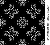 abstract seamless pattern ... | Shutterstock .eps vector #353246234