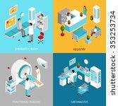 hospital departments design... | Shutterstock .eps vector #353253734