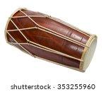 traditional indian drum... | Shutterstock . vector #353255960