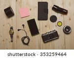 man's accessories | Shutterstock . vector #353259464