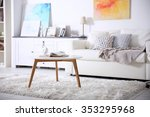 interior of living room | Shutterstock . vector #353295968