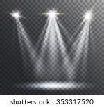 abstract  spotlight background. | Shutterstock .eps vector #353317520