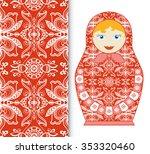 Russian Doll Fun Toy Souvenir...