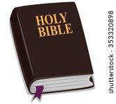 vector illustration of holy... | Shutterstock .eps vector #353320898