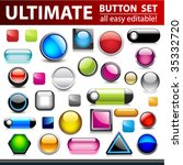 ultimate button set for web... | Shutterstock .eps vector #35332720