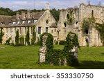 old and luxurious abbaye de... | Shutterstock . vector #353330750