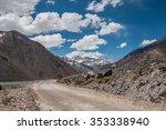 el yeso dam  drinking water... | Shutterstock . vector #353338940