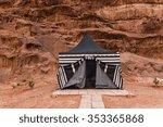 Tourist Tent In Wadi Rum...