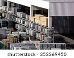 building materials | Shutterstock . vector #353369450