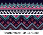 geometric seamless pattern... | Shutterstock .eps vector #353378300