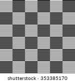 checkered background with liny... | Shutterstock .eps vector #353385170