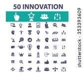 innovation technology  creative ...   Shutterstock .eps vector #353393609