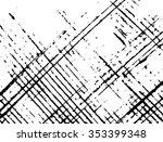 grunge lines vector | Shutterstock .eps vector #353399348