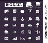 big data  database  hosting ... | Shutterstock .eps vector #353413094