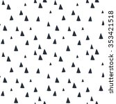 hand drawn seamless pattern... | Shutterstock .eps vector #353421518