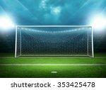 goal post | Shutterstock . vector #353425478