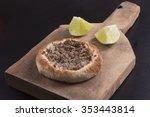meat esfiha | Shutterstock . vector #353443814