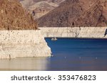 Ship Sails On Lake Mead At...