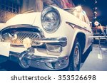 headlight lamp vintage classic... | Shutterstock . vector #353526698