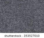 herringbone tweed background...   Shutterstock . vector #353527010