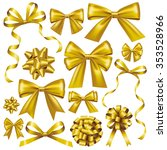 Gold Bow Set