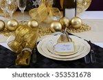 happy new years eve elegant... | Shutterstock . vector #353531678