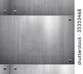 metal template background | Shutterstock . vector #35353468