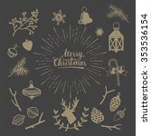 Hand Drawn Vintage Christmas...