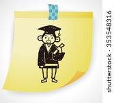 student doodle | Shutterstock .eps vector #353548316
