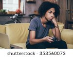 nothing interesting to watch.... | Shutterstock . vector #353560073