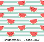 Cute Red Watermelon Slice...
