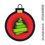 vector illustration christmas...   Shutterstock .eps vector #353640800