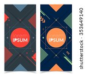 colorful futuristic banners for ...