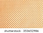 orange perforated leather | Shutterstock . vector #353652986