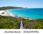 scenic panoramic view of cliff... | Shutterstock . vector #353659496