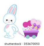 greeting card.cute cartoon...   Shutterstock .eps vector #353670053