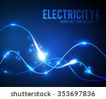 abstract futuristic background. ... | Shutterstock .eps vector #353697836