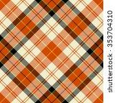 textured tartan plaid. seamless ... | Shutterstock .eps vector #353704310