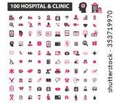 hospital  clinic  medicine ... | Shutterstock .eps vector #353719970