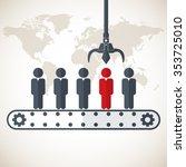 business management  strategy... | Shutterstock .eps vector #353725010