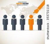 business management  strategy... | Shutterstock .eps vector #353731118
