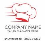 chef character illustration... | Shutterstock .eps vector #353734319