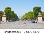 paris june 27  the avenue des... | Shutterstock . vector #353734379